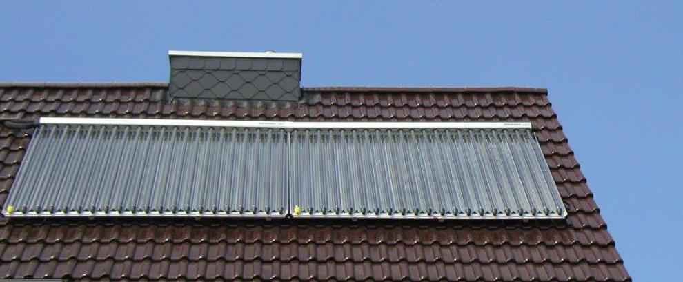Solartechnik - Wärme und Strom
